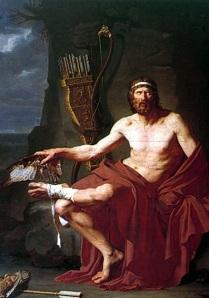 Philoctetes by Jean Germain Drouais